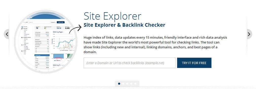 Giới thiệu] Ahrefs com - Công cụ phân tích backlink chuyên nghiệp