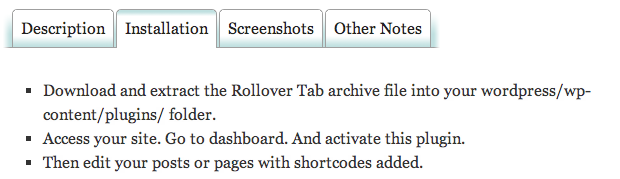 Rollover-Tabs-Screenshot